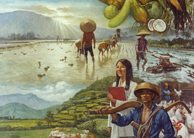 Southeast Asian Agriculture Mural